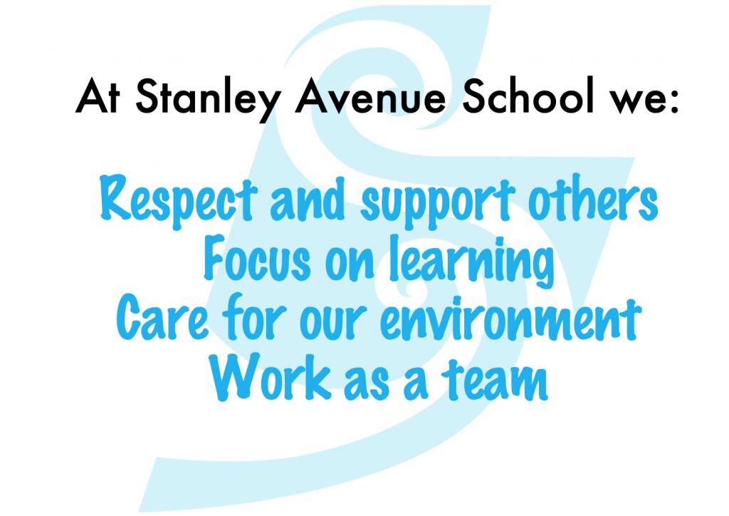 Our Values, Stanley Avenue School